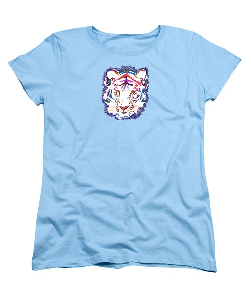 Magnificent Tiger Women's T-Shirt (Standard Cut) by Mary Armstrong