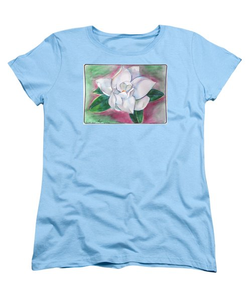 Magnolia 2 Women's T-Shirt (Standard Cut) by Loretta Nash