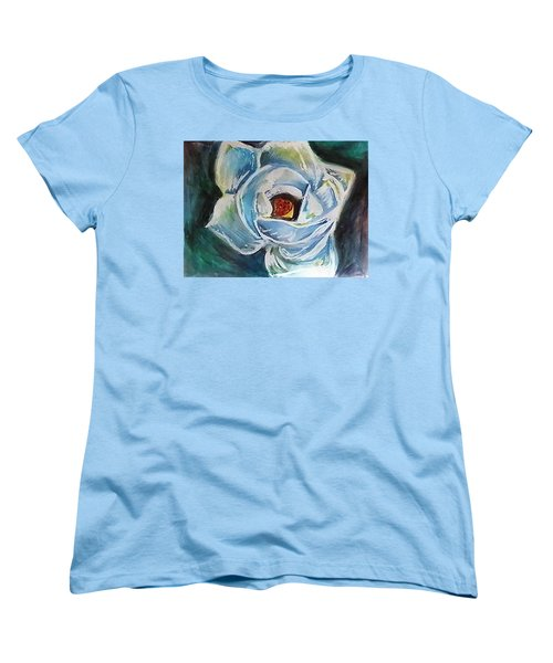 Magnolia 3 Women's T-Shirt (Standard Cut) by Loretta Nash