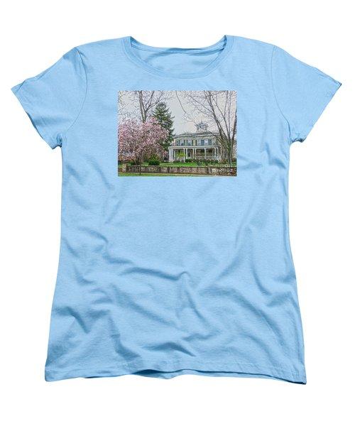Magnolia Time Women's T-Shirt (Standard Cut) by David Bearden