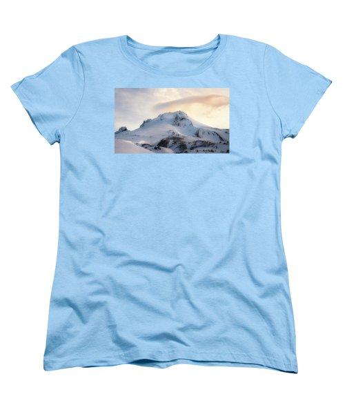 Women's T-Shirt (Standard Cut) featuring the photograph Majestic Mt. Hood by Ryan Manuel