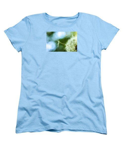 Make A Wish Women's T-Shirt (Standard Cut) by Jean Haynes