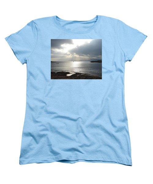 Women's T-Shirt (Standard Cut) featuring the photograph Mallorca by Ana Maria Edulescu