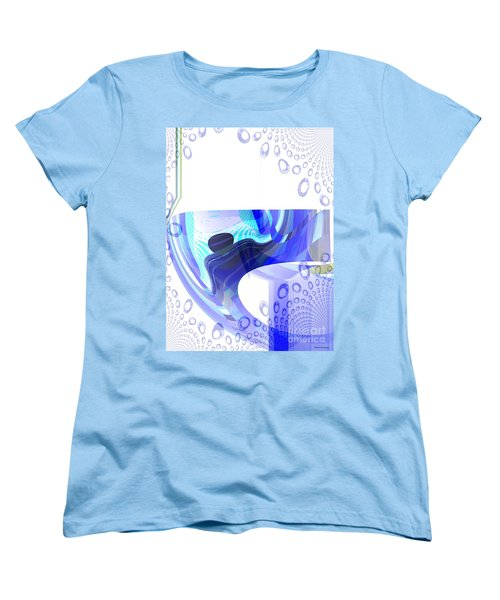 Man In The Air Women's T-Shirt (Standard Cut) by Thibault Toussaint