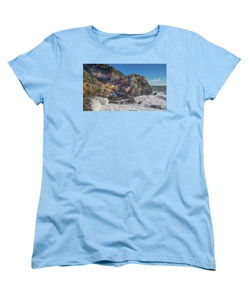 Manarola In Cinque Terre  Women's T-Shirt (Standard Cut)