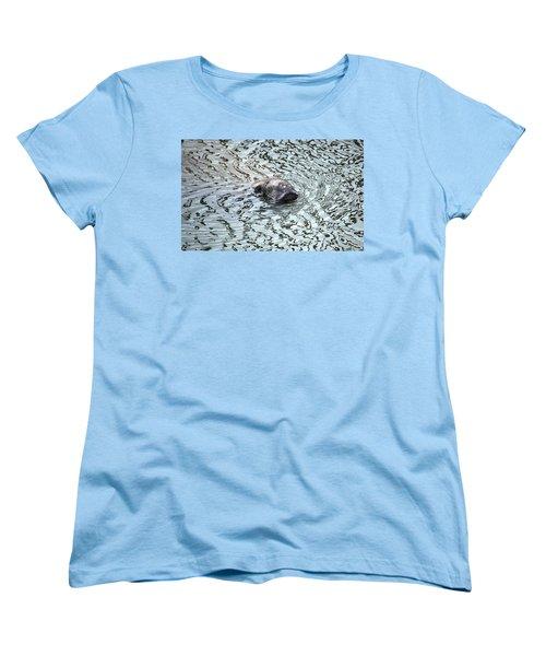 Manatee 2 Women's T-Shirt (Standard Cut) by Angela Murray