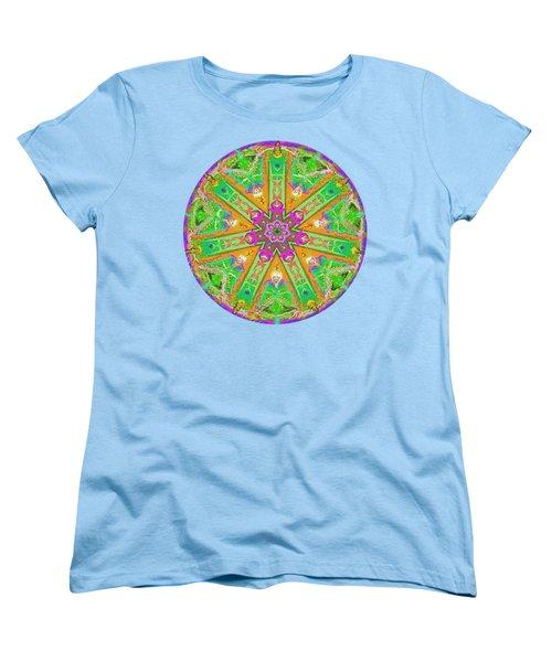 Mandala 12 27 2015 Kings And Priests Women's T-Shirt (Standard Cut) by Hidden Mountain