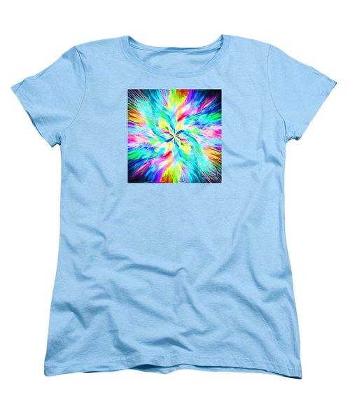 Women's T-Shirt (Standard Cut) featuring the photograph Mandala Twirl 03 by Jack Torcello