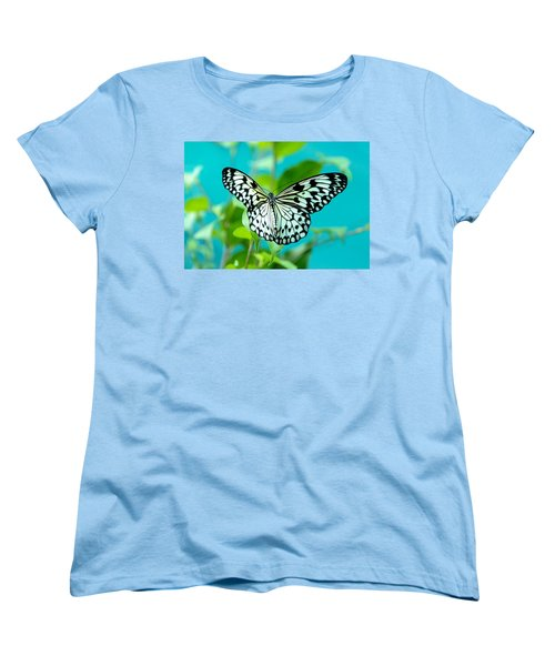 Women's T-Shirt (Standard Cut) featuring the photograph Mangrove Tree Nymph by Jenny Rainbow