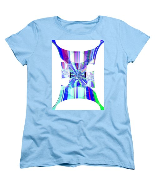 Man's Flag Women's T-Shirt (Standard Cut) by Thibault Toussaint