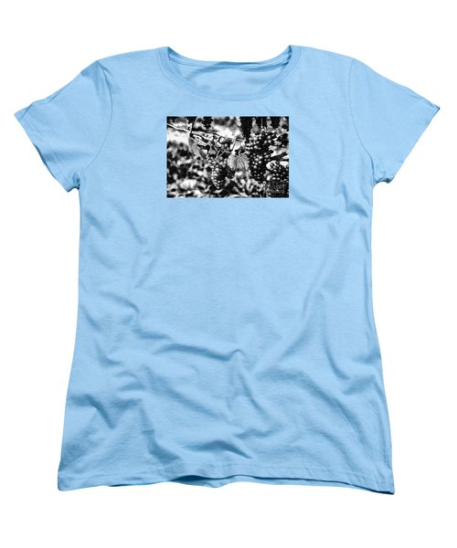 Women's T-Shirt (Standard Cut) featuring the photograph Many Grapes by Rick Bragan