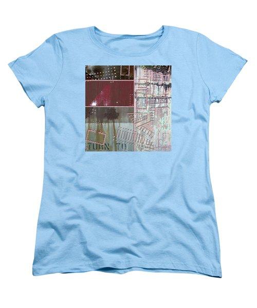 Maps #17 Women's T-Shirt (Standard Cut) by Joan Ladendorf