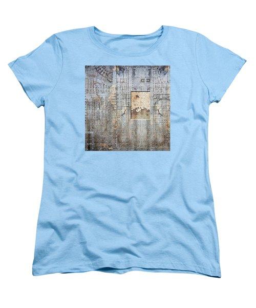 Maps #18 Women's T-Shirt (Standard Cut) by Joan Ladendorf