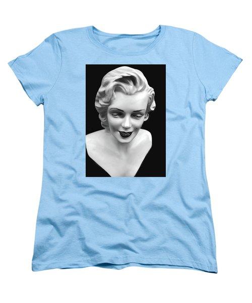 Marilyn Monroe Women's T-Shirt (Standard Cut) by JoAnn Lense