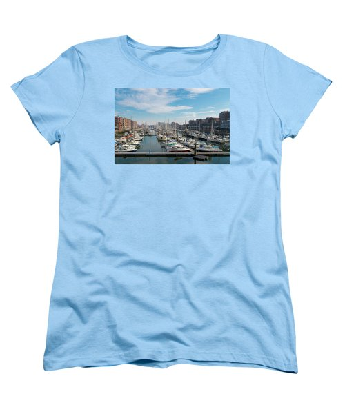 Marina In The Netherlands Women's T-Shirt (Standard Cut) by Hans Engbers