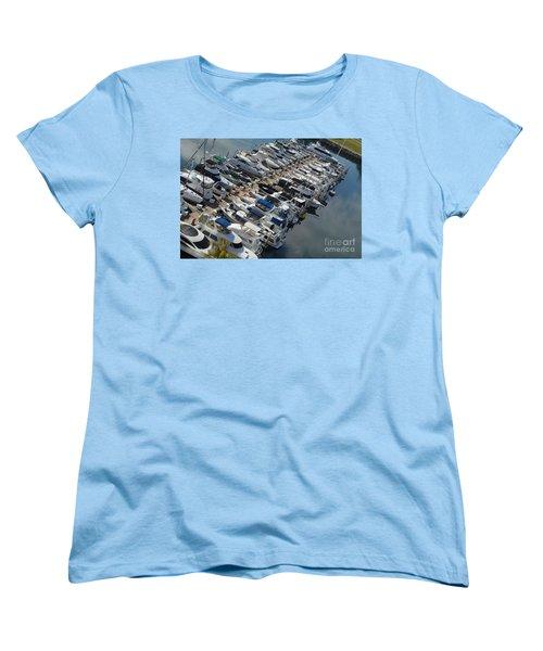 Marina Women's T-Shirt (Standard Cut) by Renie Rutten