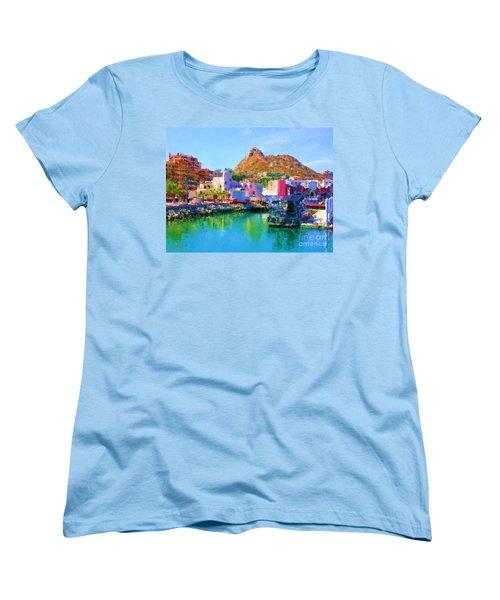 Marina Towards Pedregal II Women's T-Shirt (Standard Cut) by Gerhardt Isringhaus