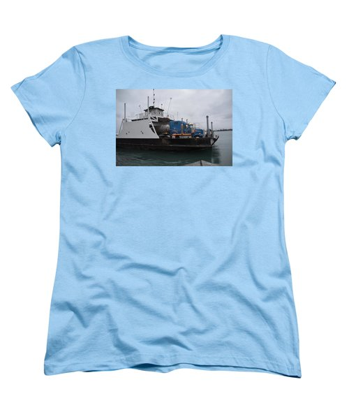 Marine City Mich Car Truck Ferry Women's T-Shirt (Standard Cut)