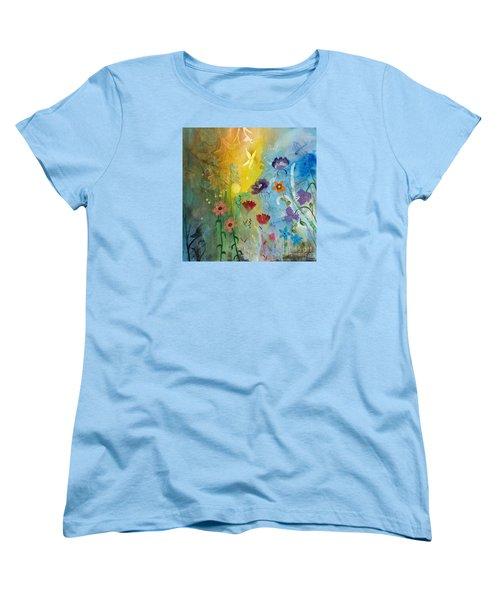 Mariposa Women's T-Shirt (Standard Cut) by Robin Maria Pedrero