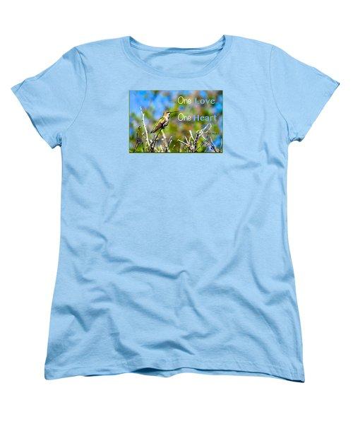 Marley Love  Women's T-Shirt (Standard Cut) by David Norman