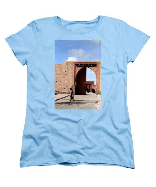 Women's T-Shirt (Standard Cut) featuring the photograph Marrakech 1 by Andrew Fare