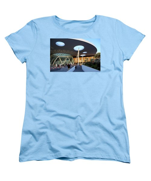 Women's T-Shirt (Standard Cut) featuring the photograph Marrakech Airport 2 by Andrew Fare