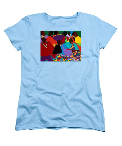 Masekelas Marketplace Congo Women's T-Shirt (Standard Fit)