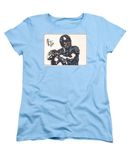 Matthew Stafford Women's T-Shirt (Standard Cut) by Jeremiah Colley