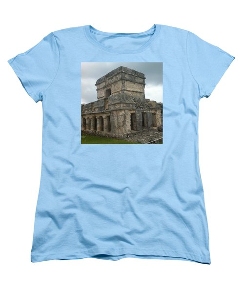 Mayan Stone Homes  Women's T-Shirt (Standard Cut)
