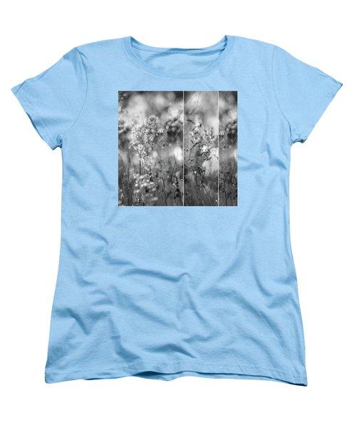 Meadowgrasses Women's T-Shirt (Standard Cut) by Linde Townsend