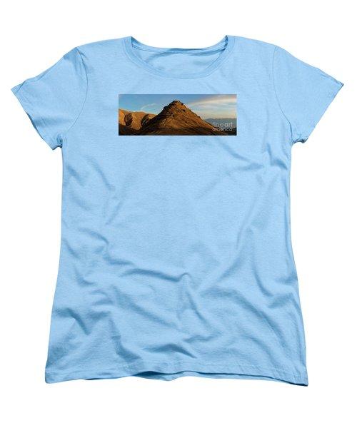 Medieval Proshaberd Fortress On The Top Of The Hill, Armenia Women's T-Shirt (Standard Cut) by Gurgen Bakhshetsyan