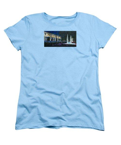 Meet Me At The Muny Women's T-Shirt (Standard Cut) by Michael Frank