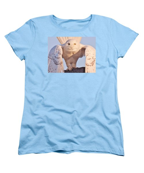 Meet Roofus Women's T-Shirt (Standard Cut) by Elaine Franklin