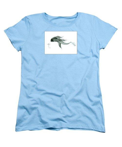Megic Fish 1 Women's T-Shirt (Standard Cut) by James Lanigan Thompson MFA