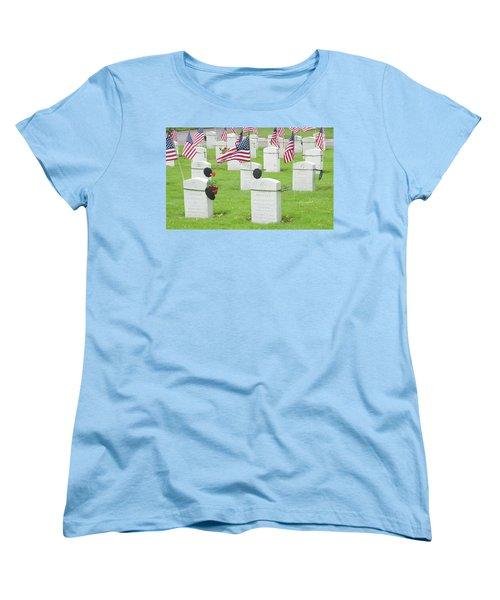 Memorial Day Two Women's T-Shirt (Standard Cut) by Caroline Stella