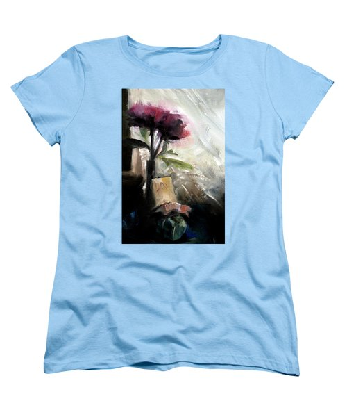 Memories In The Making Timeless Still Life Painting Women's T-Shirt (Standard Cut) by Michele Carter
