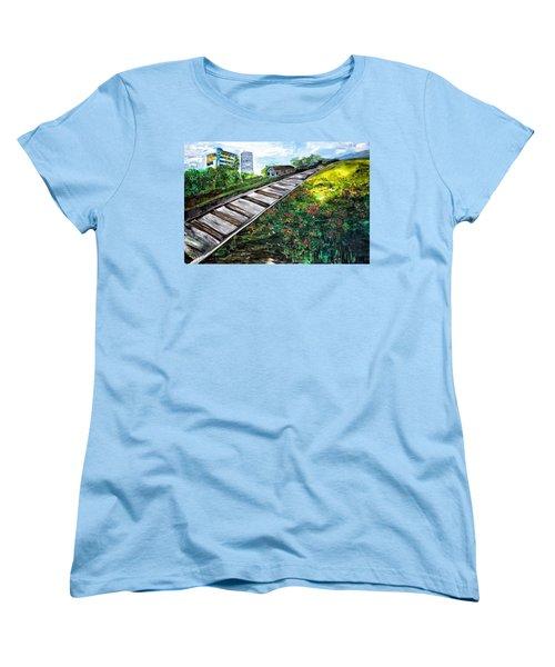 Memories Of Commonwealth Women's T-Shirt (Standard Cut) by Belinda Low
