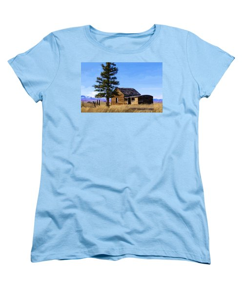 Memories Of Montana Women's T-Shirt (Standard Cut)