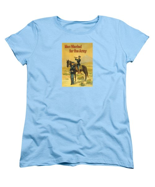 Men Wanted For The Army Women's T-Shirt (Standard Cut) by War Is Hell Store