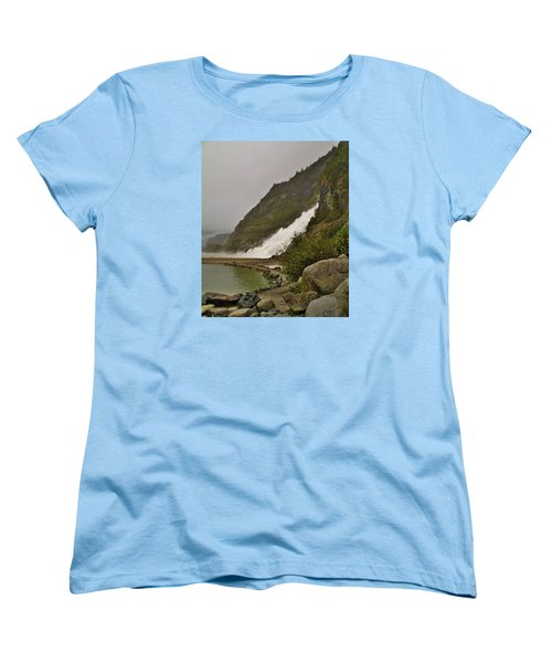 Mendenhall Glacier Park Women's T-Shirt (Standard Cut) by Martin Cline