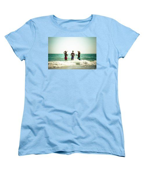 Women's T-Shirt (Standard Cut) featuring the photograph Mermaids by Hannes Cmarits