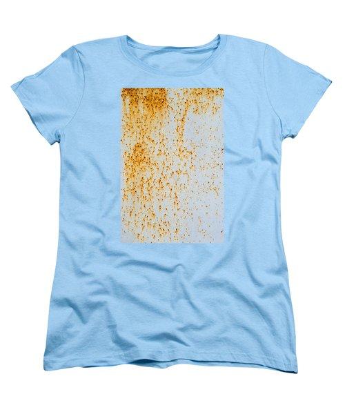 Women's T-Shirt (Standard Cut) featuring the photograph Metal Rust by John Williams