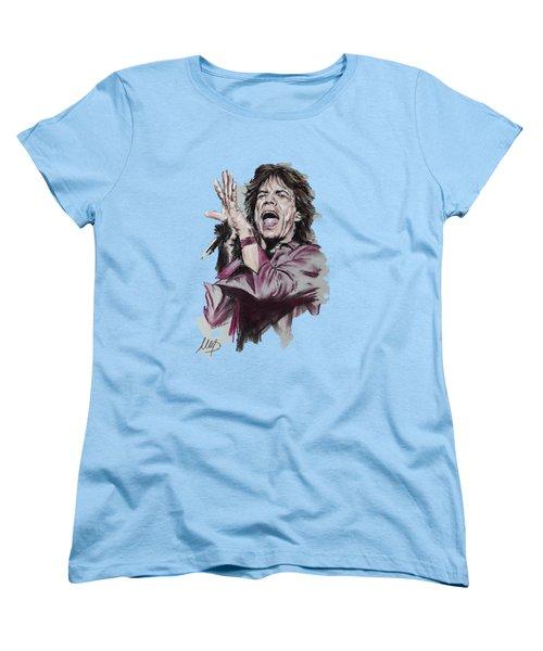 Mick Jagger Women's T-Shirt (Standard Cut)