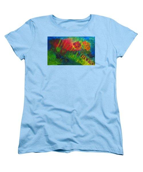 Midcity Magic Women's T-Shirt (Standard Cut) by Sandy McIntire