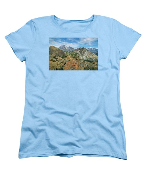 Midday At Iron Peak Women's T-Shirt (Standard Cut) by Ken Stanback