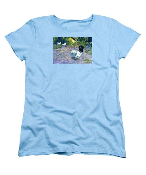 Middleboro Ruler Women's T-Shirt (Standard Cut) by Anne Marie Brown