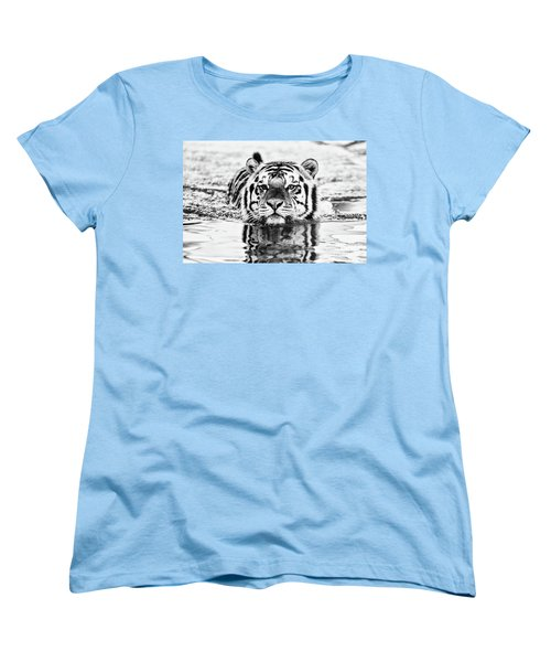 Mike Women's T-Shirt (Standard Cut) by Scott Pellegrin
