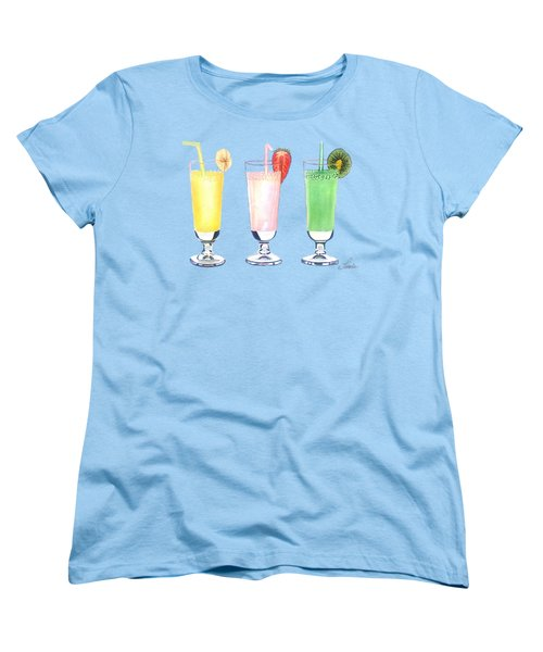 Milkshake In Style Women's T-Shirt (Standard Cut) by Sonja Taljaard