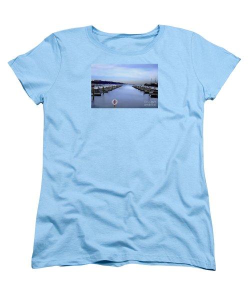 Milwaukee Marina November 2015 Women's T-Shirt (Standard Cut) by David Blank