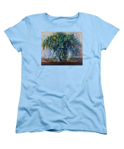 Mimosa Women's T-Shirt (Standard Cut) by Maxim Komissarchik